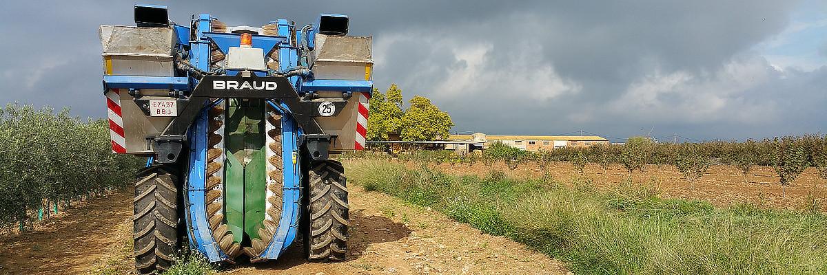 maquinària actual a Mas Montseny