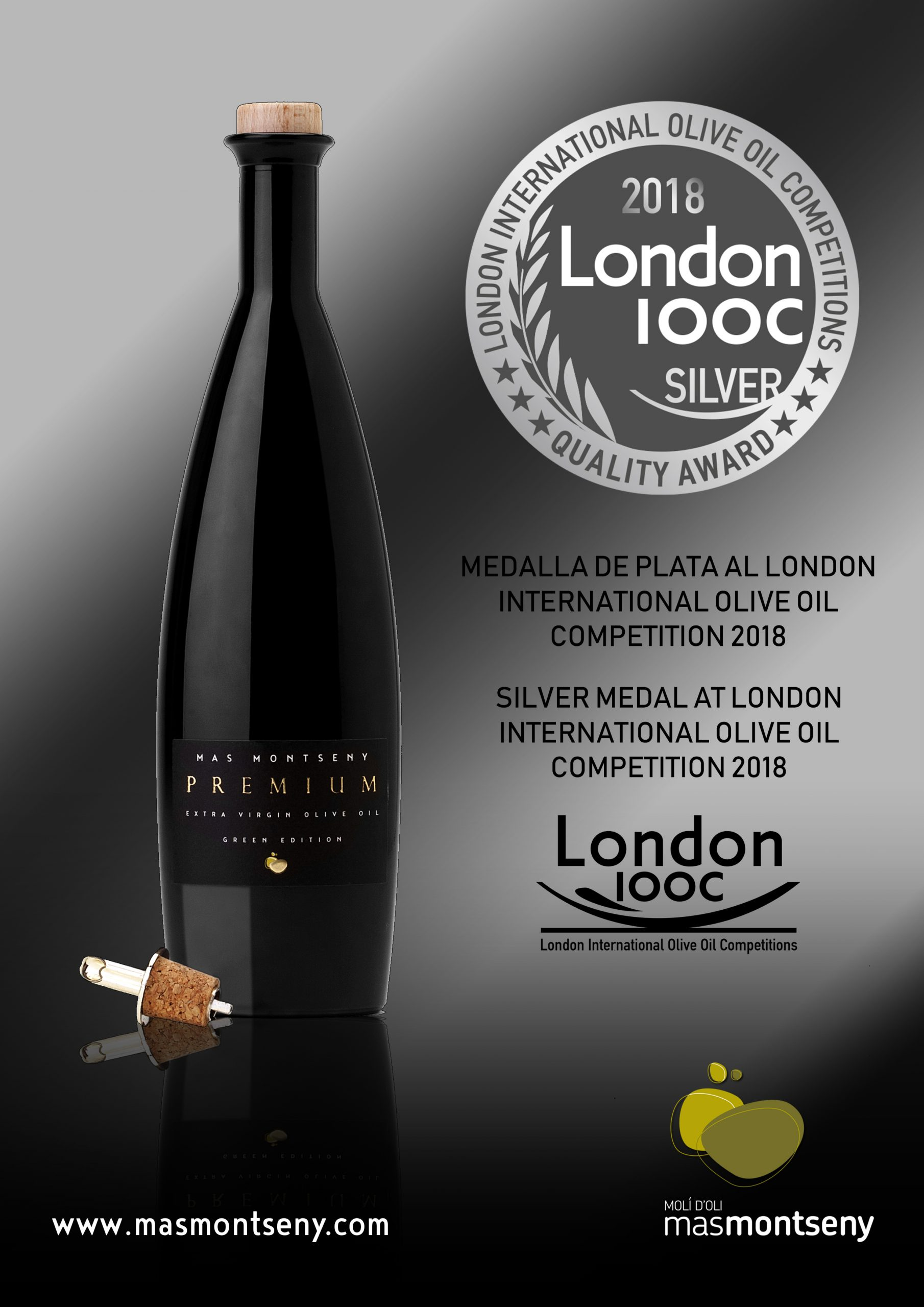 LONDON AWARDS 2018 MAS MONTSENY PREMIUM