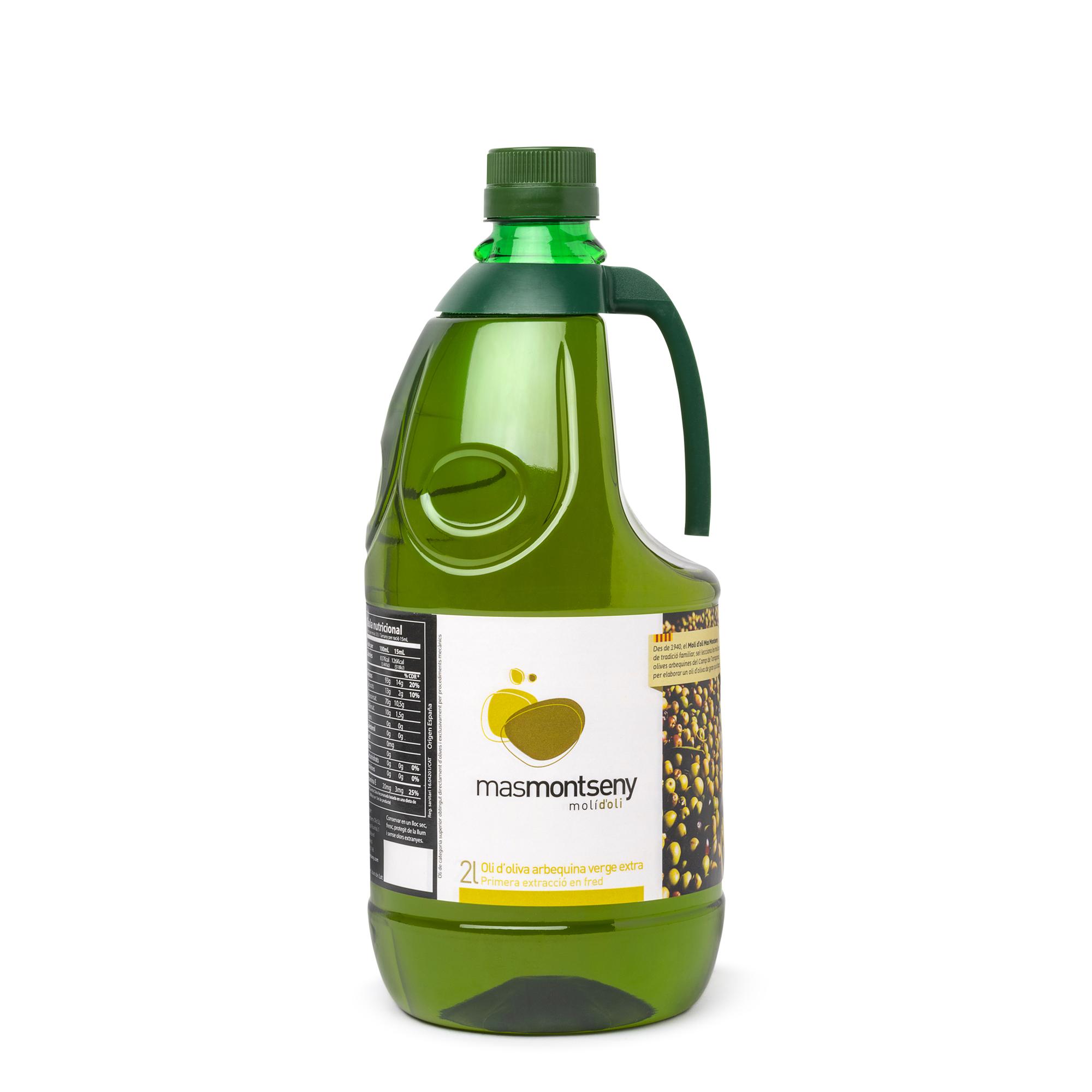2L Oli d'oliva verge extra Mas Montseny 2020