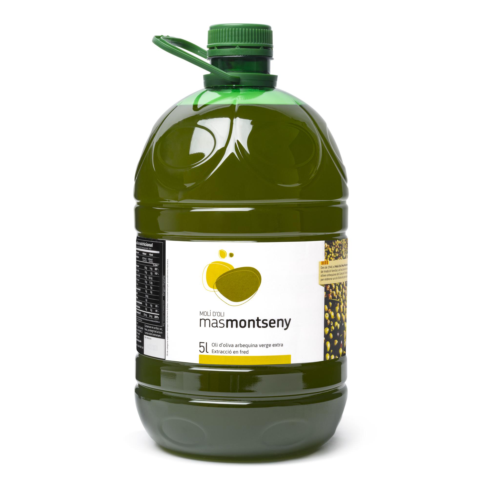 5L Oli d'oliva verge extra Mas Montseny 2020